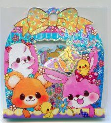 Thumbnail of Q-Lia Cheerful Sunday Sticker Set Sack Pack #1 (IP0057)