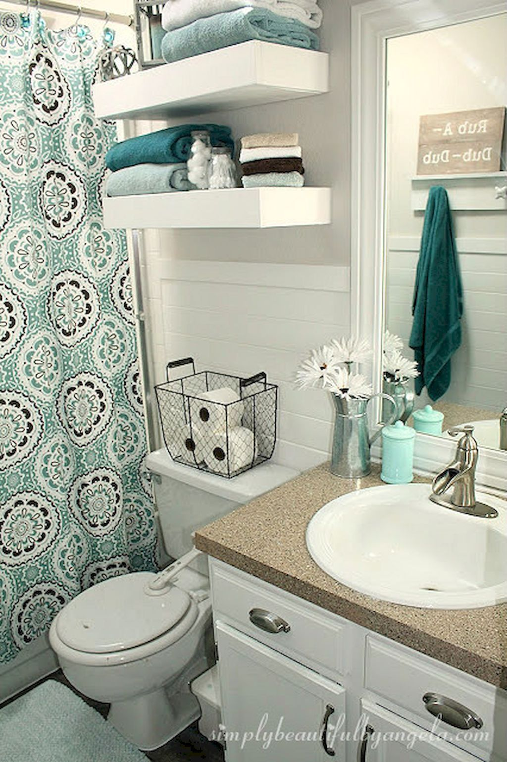 Cool Small Master Bathroom Remodel Ideas On A Budget 69