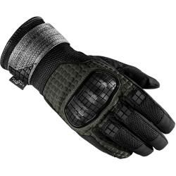 Photo of Spidi Rainwarrior Motorcycle Gloves Black Green L Spidi