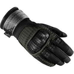 Photo of Spidi Rainwarrior Motorcycle Gloves Black Green L Spidi