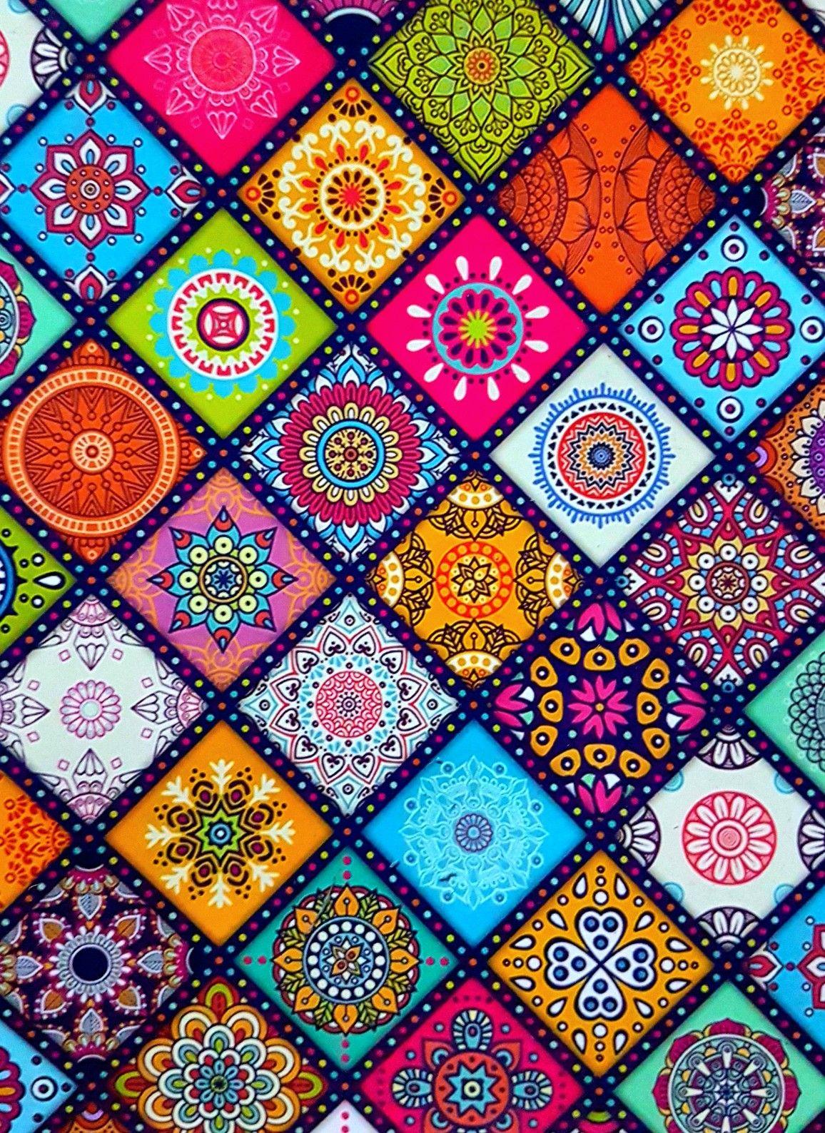 Estampas Mandala Wallpaper Pattern Art Tile Art
