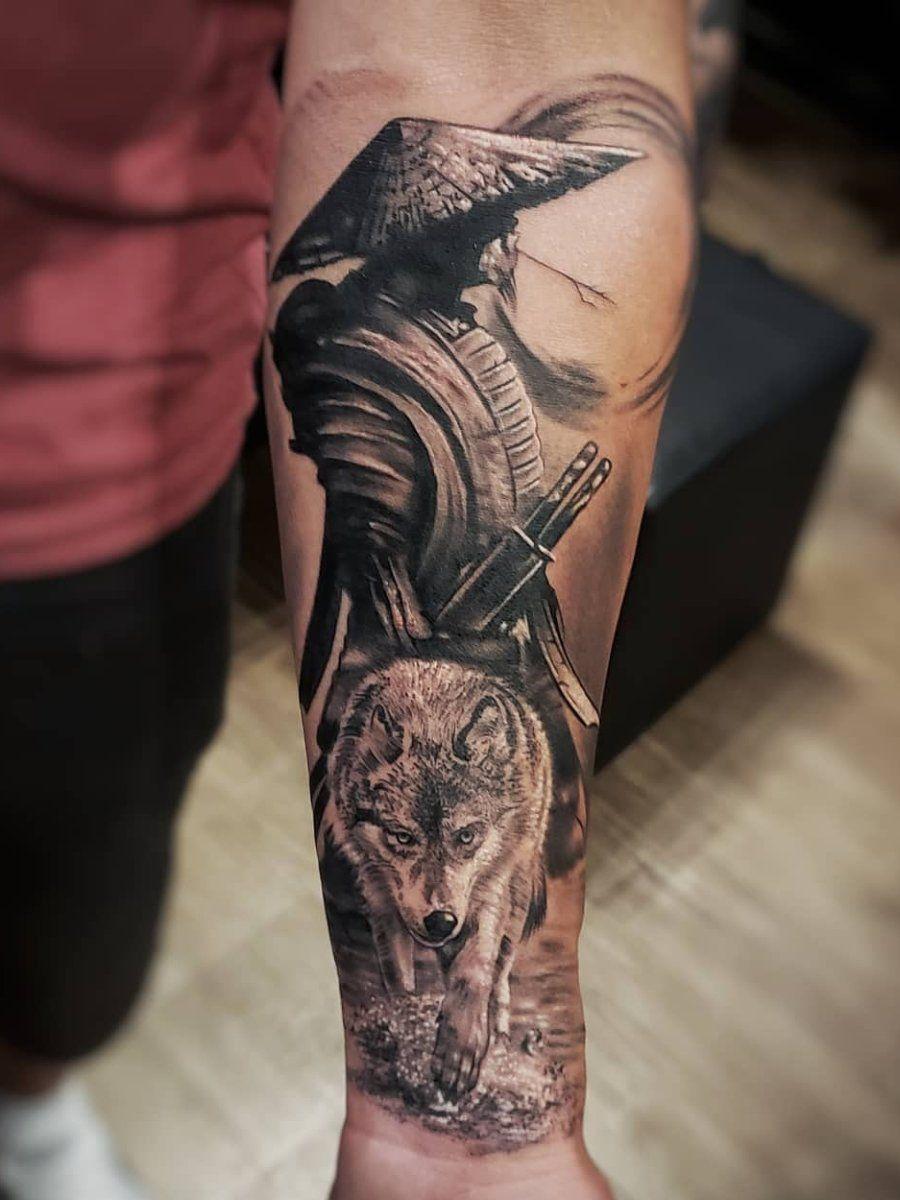 Ramon On Twitter Forearm Tattoo Men Tattoos For Guys Warrior Tattoo Sleeve