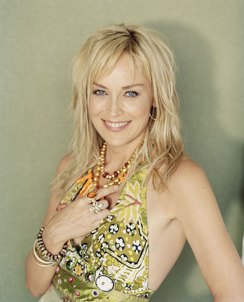 ☼ #celebrities #mature sharon stone, 55 | celebrities mature
