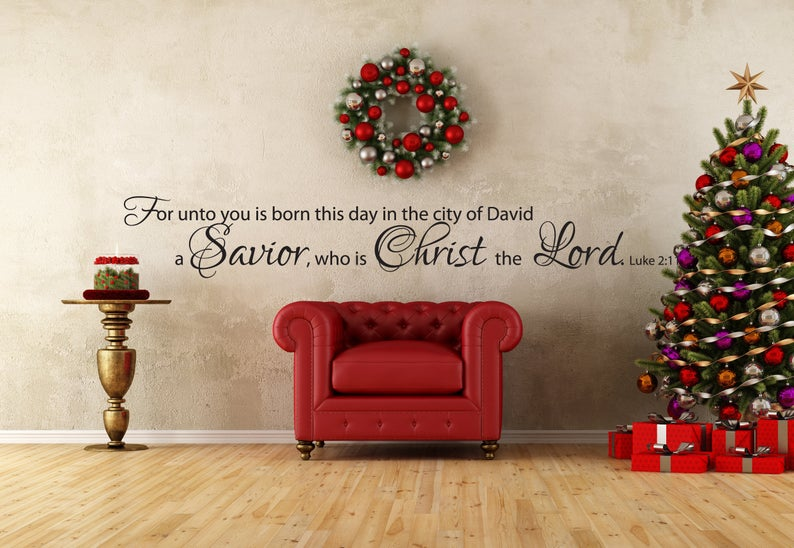 """""""For Unto You Is Born"""