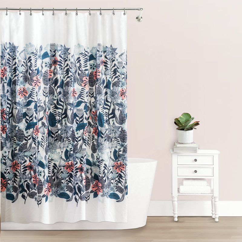 Stromsburg Fabric Single Shower Curtain Fabric Shower Curtains