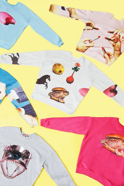 LIMITED EDITION: Sweatshirts by MSGM and Maurizio Cattelan