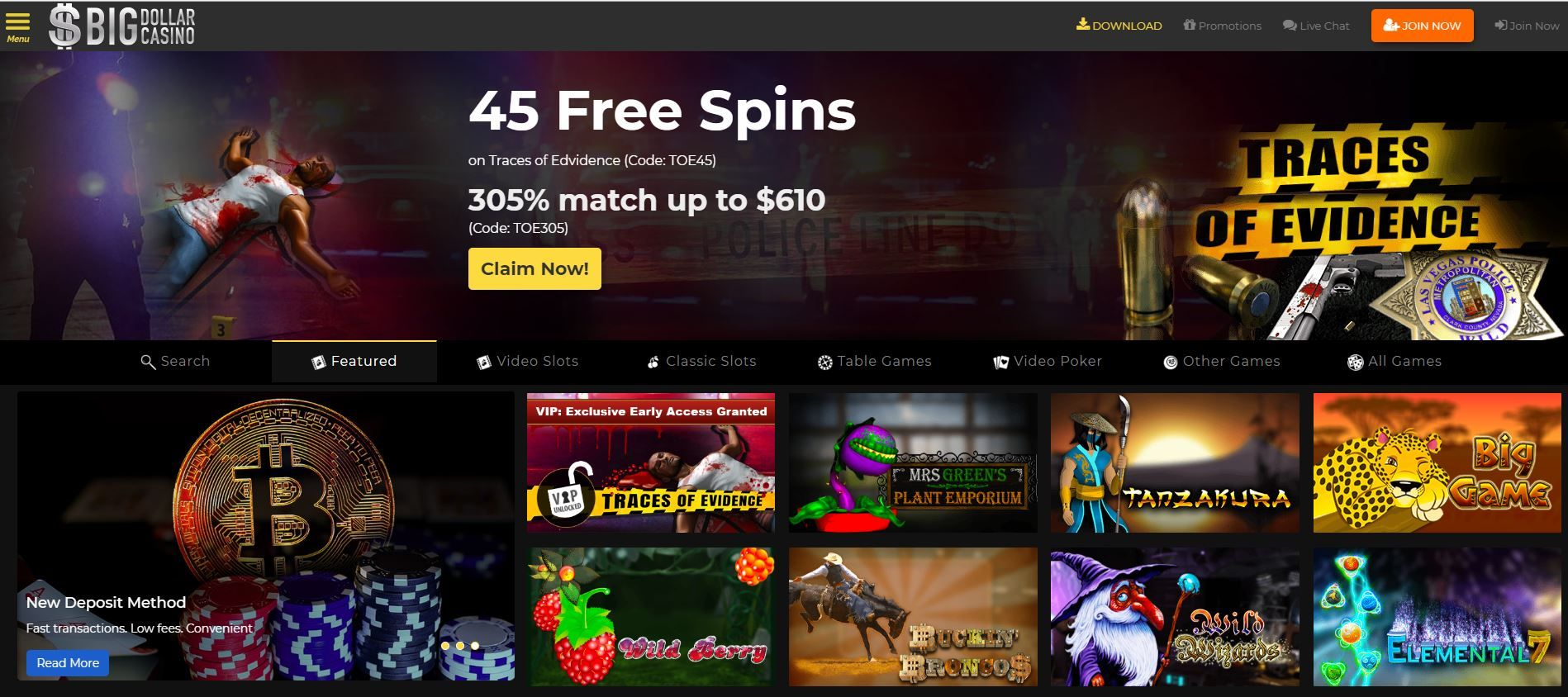 Big Dollar Casino Bonus Codes Usa Casino Bonus Casino Bonus