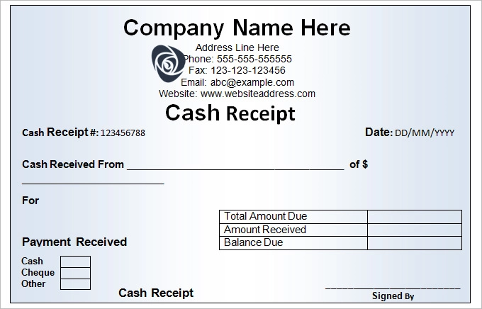 Official Receipt Sample Google Search Receipt Template Words Word Template