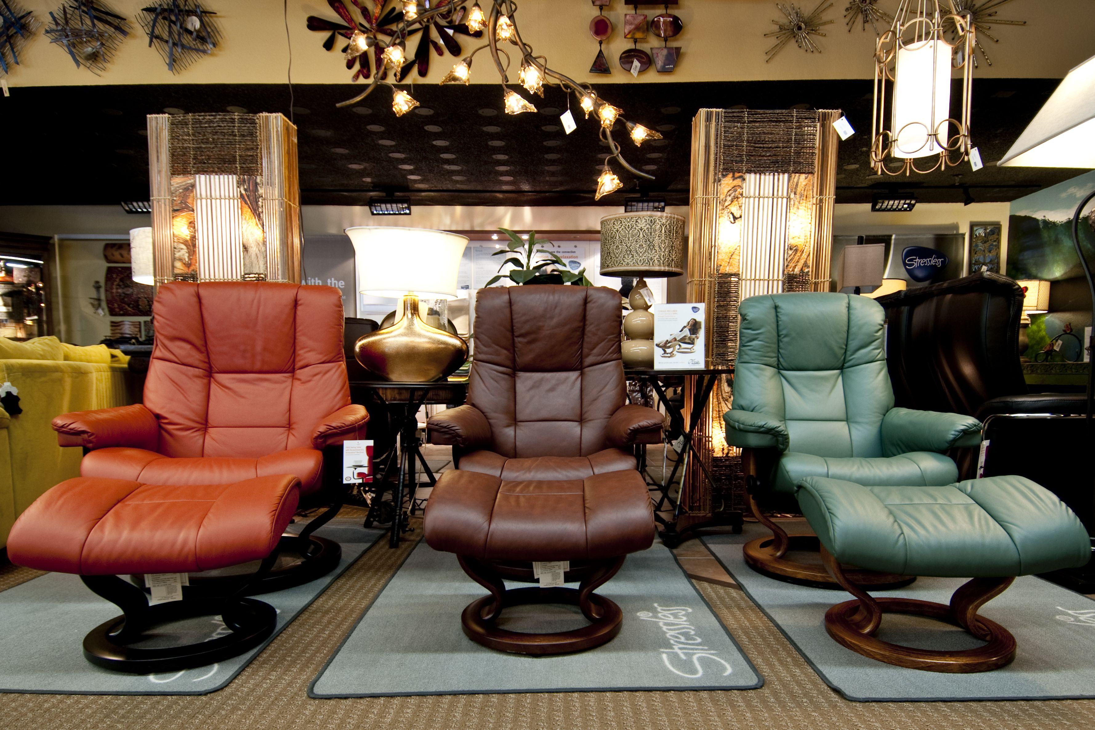 Stressless recliners  Finds Design & Decor, Chico CA  furniturechico.com