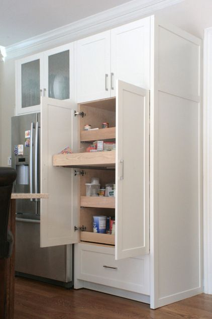 Pull Out Drawers For Deep Pantry Cabinets Kitchen By Rdm Architecture Pantry Wall Deep Pantry Pantry Drawers