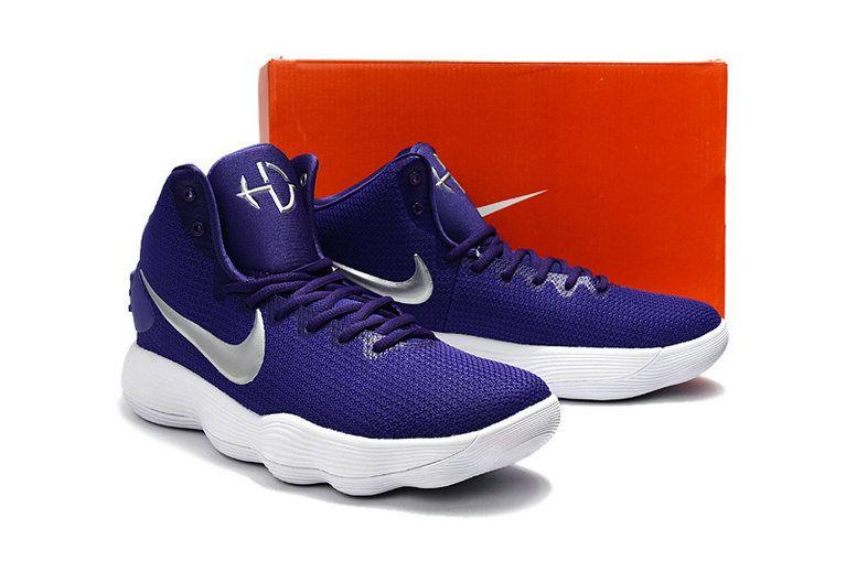 sports shoes 88ece 5e3d8 Free Shipping Only 69  Latest Nike Hyperdunk 2017 Club Purple Court Purple  Metallic SiLVSer