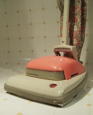 Mid Century Modern Pink Hoover Headlight Convertible
