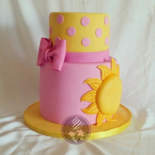 Sunshine birthday cake!