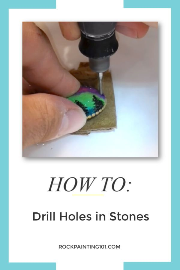 Photo of How to drill holes in rocks – Rock Painting 101,  #drill #finejewelrymaking #holes #Painting …