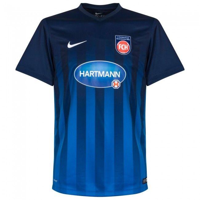 8e0c29752b49d Camiseta del FC Heidenheim 2016-2017 Local  Heidenheim  bundesliga ...