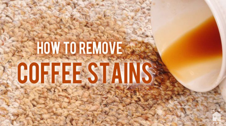 How to remove coffee stains from carpet coffee stain