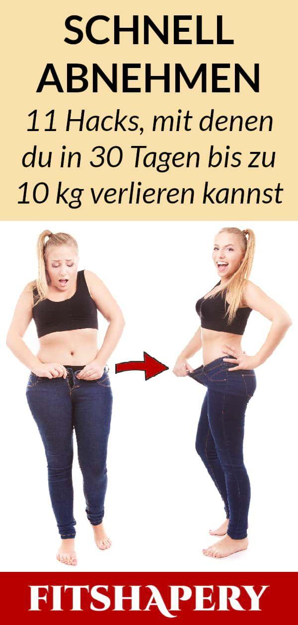 Photo of Wer schnell abnehmen möchte, der sollte seine Ernährung und sein Training effe…