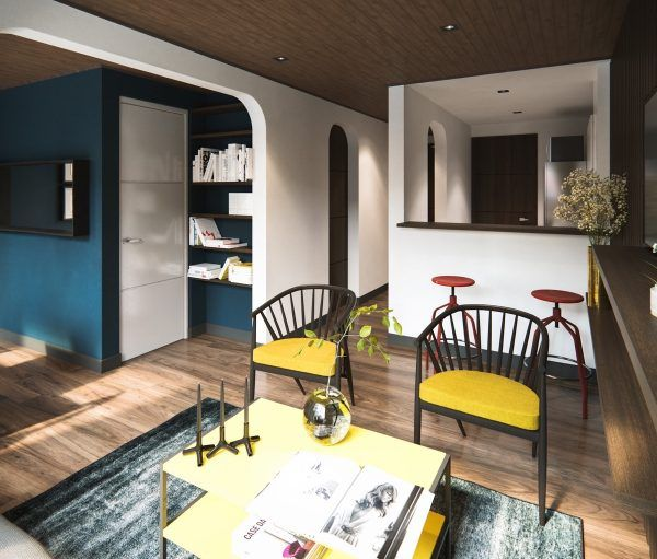 4 small apartments showcase the flexibility of compact design