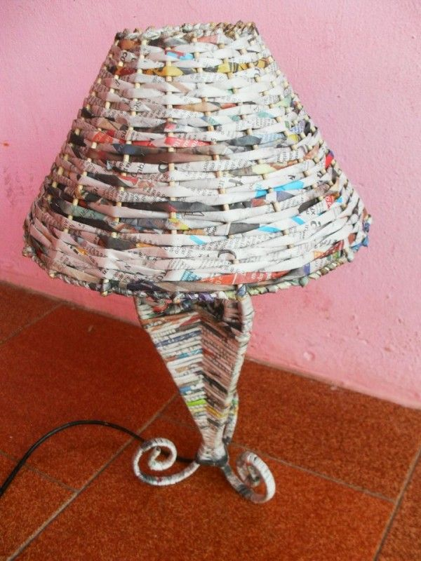 15 Newspaper Craft Ideas