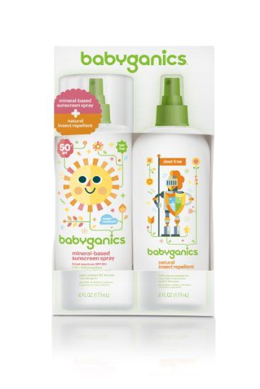 Babyganics Mineral Based Sunscreen Spf 50 Spray 6 Oz Natural