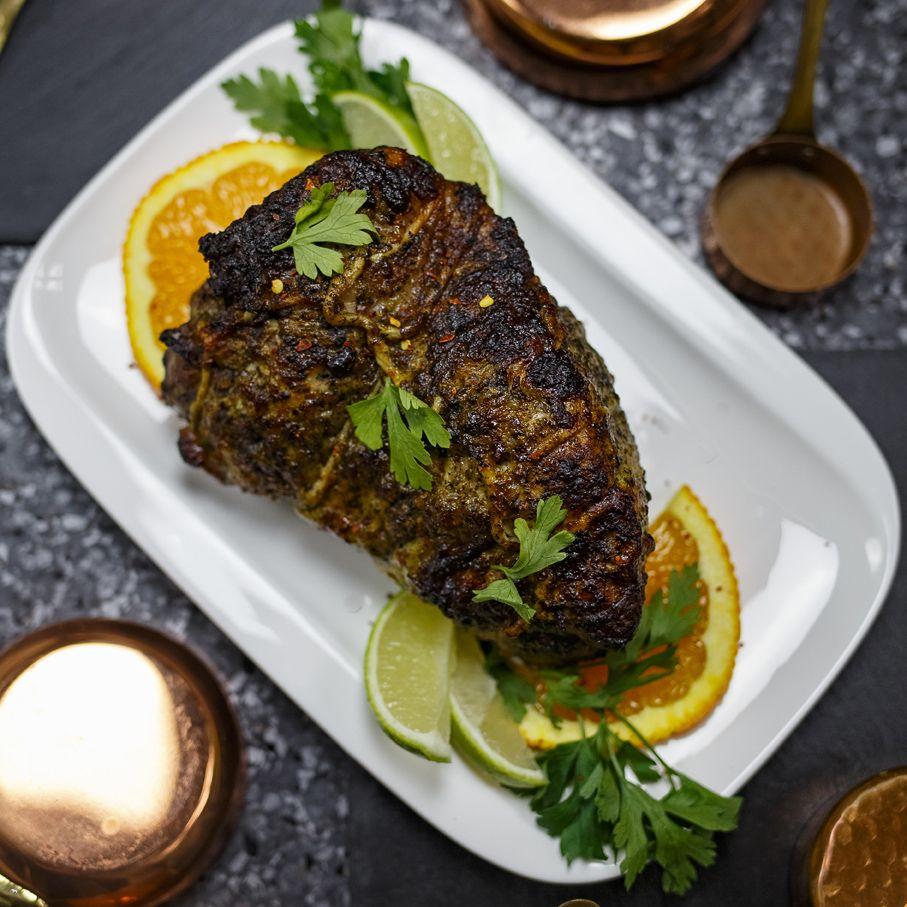 Wieprzowina Mojo Z Filmu Chef Przepis Na Pieczen Wieprzowa W Kubanskiej Marynacie Mojo Z Ziol I Cytrusow Food Meat Steak
