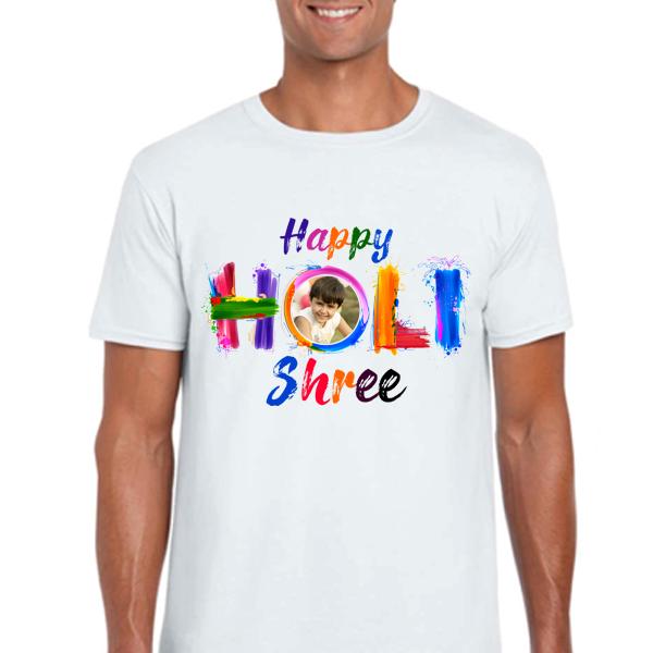 Personalised Holi T Shirts Zestpics T Shirt Painting Holi Festival Of Colours Customise T Shirt