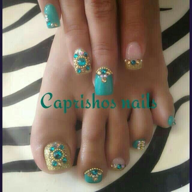 Princess Jasmine Nails: Pin By Lynette Info On Pedicures Designs