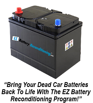 Recondition Your Old Batteries Back To 100 Of Their Working Condition Dead Car Battery Deep Cycle Battery Battery Repair