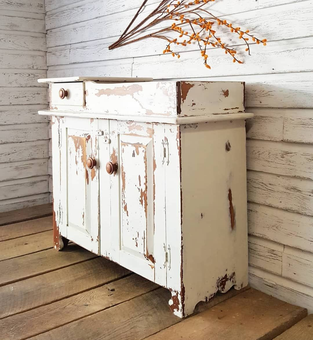 Chippy Dry Sink Dry Sink Antique Dry Sink Country Decor Rustic