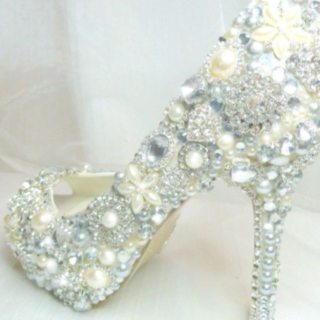Wedding Heels Shoes To Wear Reception After First Dance Of Course With A Cute Shorter White Party