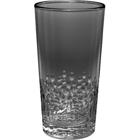 Crafted from acrylic for shatterproof appeal, this textured tumbler is perfect for the poolside bar or patio table.   Product: ...