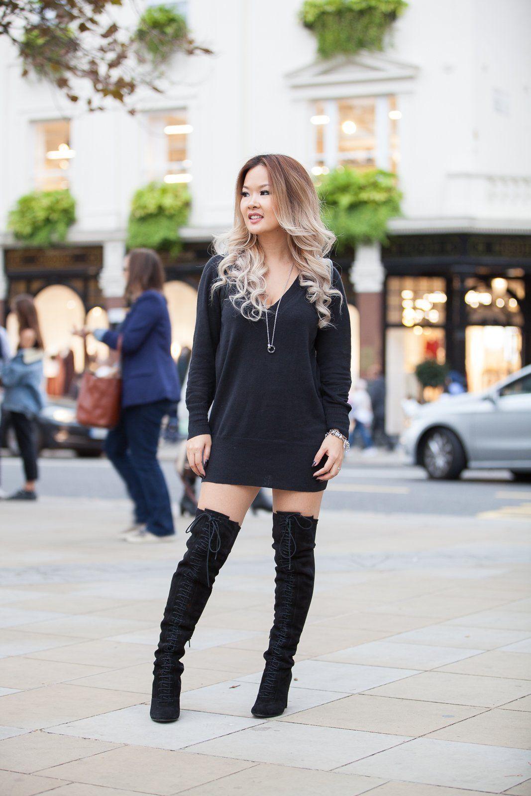 the knee boots for short women cheap online