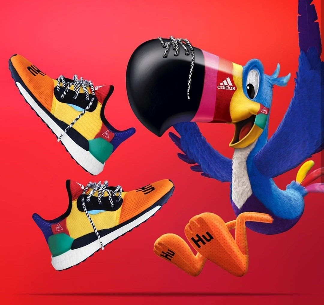 sports shoes 5162a deb89 Froot Loops x Pharrell Adidas Solar Hu Glide St - Toucan Sam edits done by   cole  sneakeredit  photoshop  hypebeast  streetwear  hype  sneakerblog ...