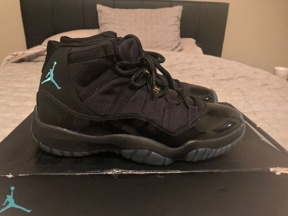 free shipping f74e3 ab717 Like NEW Nike Air Jordan XI Retro 11 Gamma Blue OG 378037-006 Size 8.5