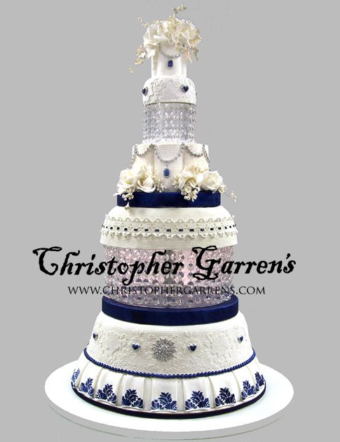 Wedding Cake Christopher Garrens Orange County Cakes At Let Them Eat Costa