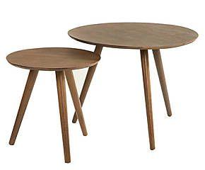 2 Tables basses, bambou - naturel