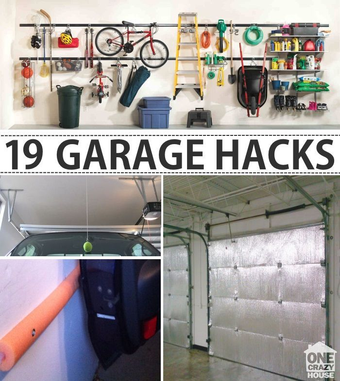 Organization Ideas For Garage Part - 36: Garage Organization Tips - 18 Ways To Find More Space In The Garage