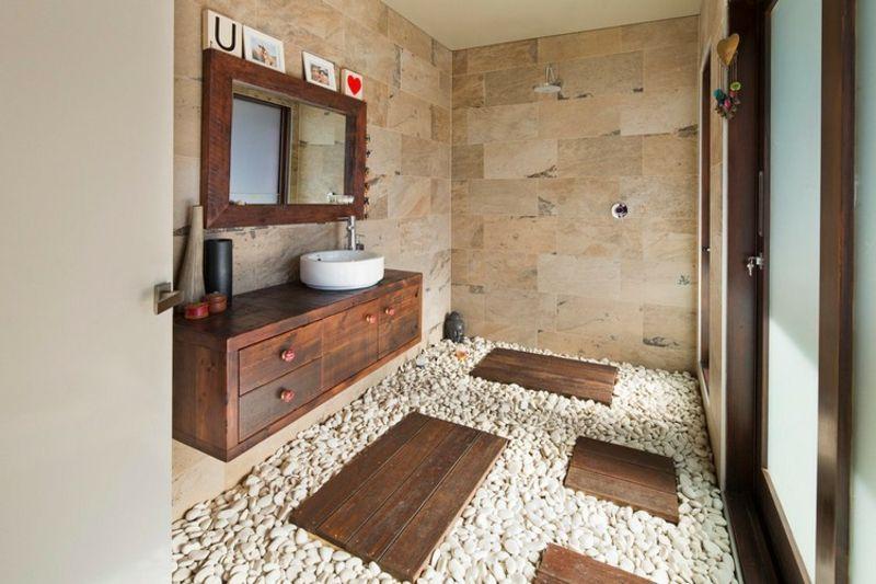 Moderne Badgestaltung Mit Naturmaterialien