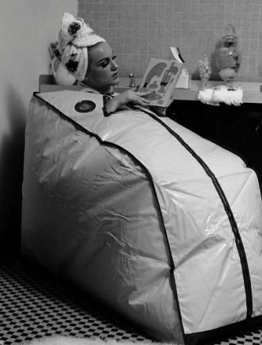 Portable Sauna, 1962 Detoxification in the comfort of your own home.