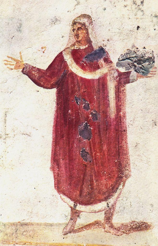 Orans, IV BCE. Catacombe dei Giordani, Roma. Culture roman christian