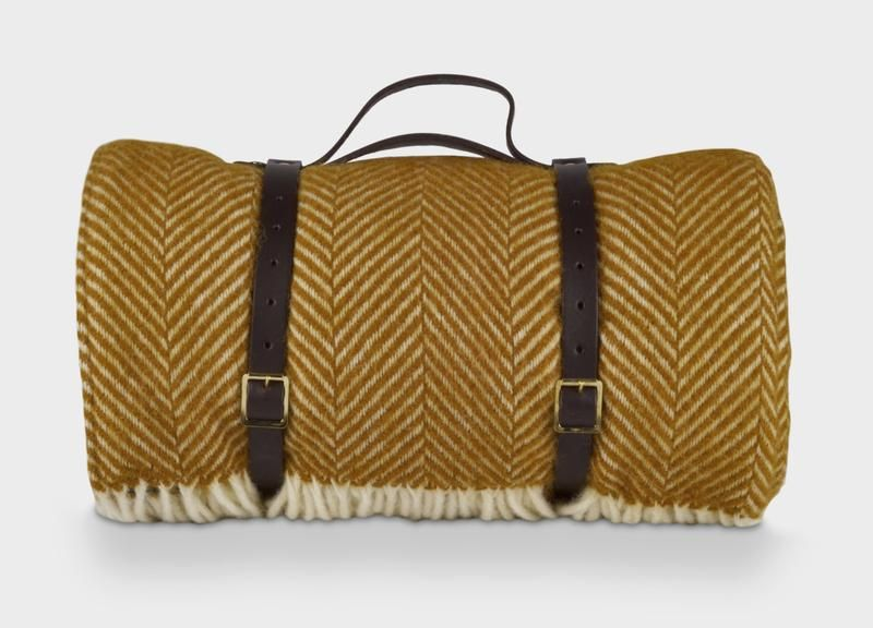 Waterproof Picnic Blanket With Straps