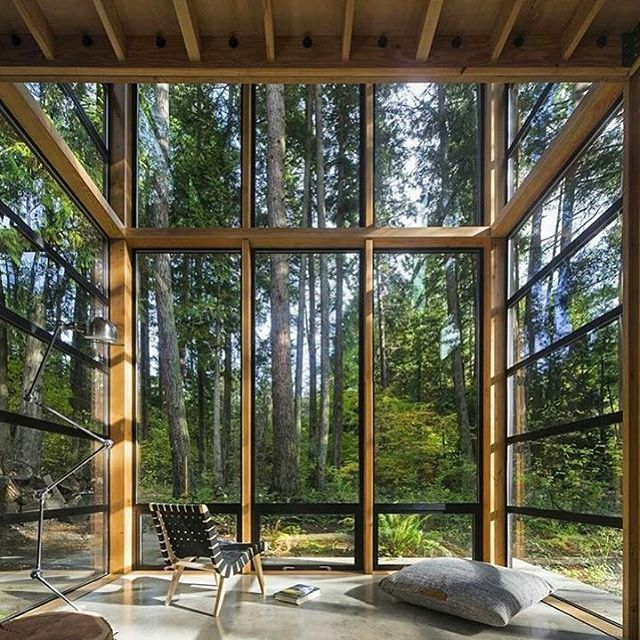Small Cabindesign Ideas: Indoor/outdoor Space Perfected. @architecturedose