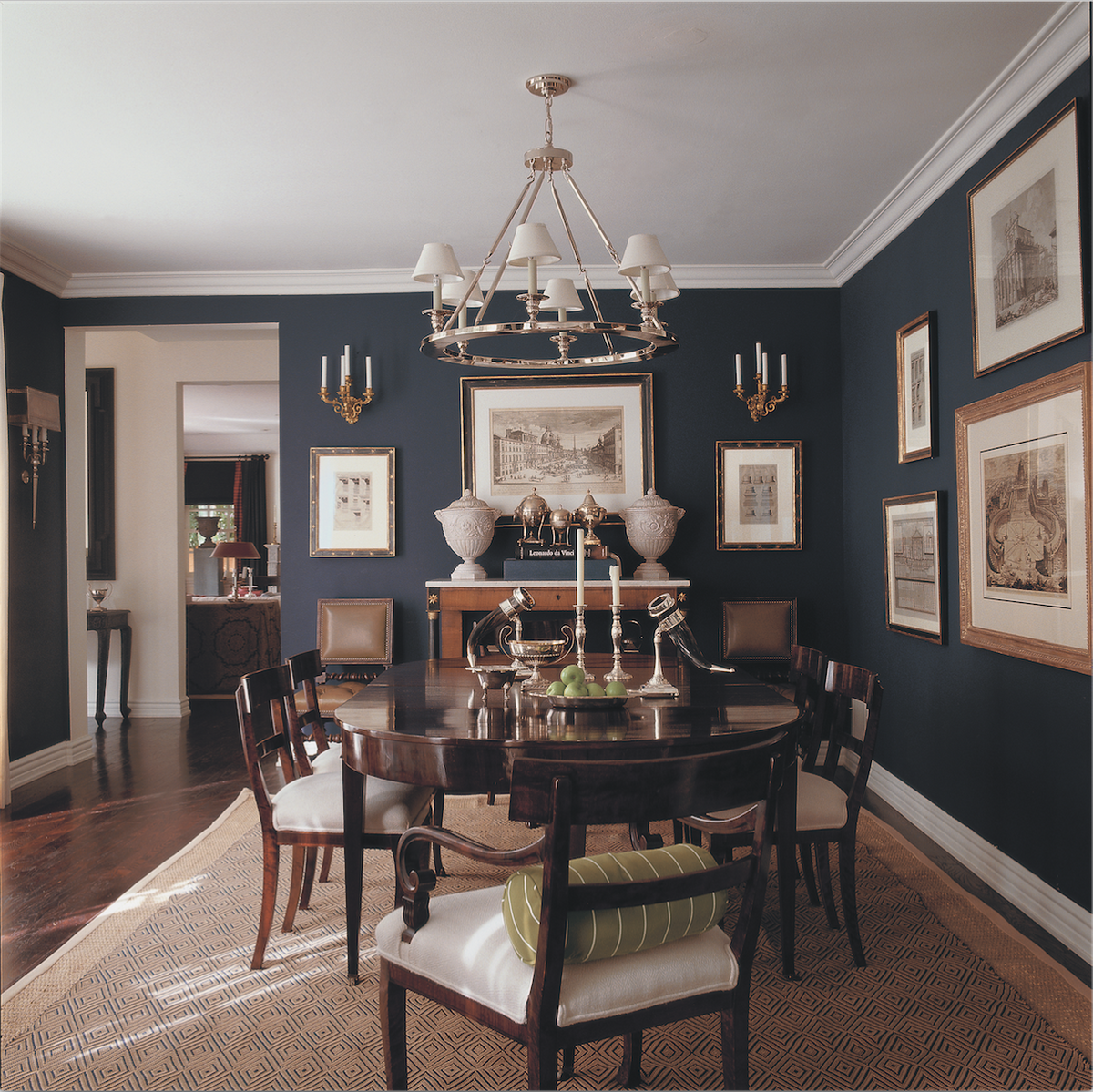 Esszimmerfarbe farbe ideen see more of mary mcdonaldus english bachelor residence on stdibs