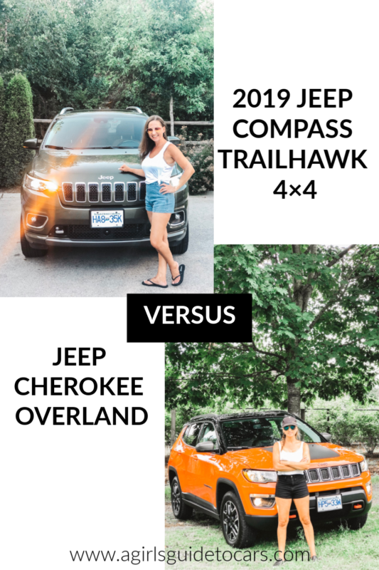 Jeep Compass Vs Jeep Cherokee A Girls Guide To Cars Jeep
