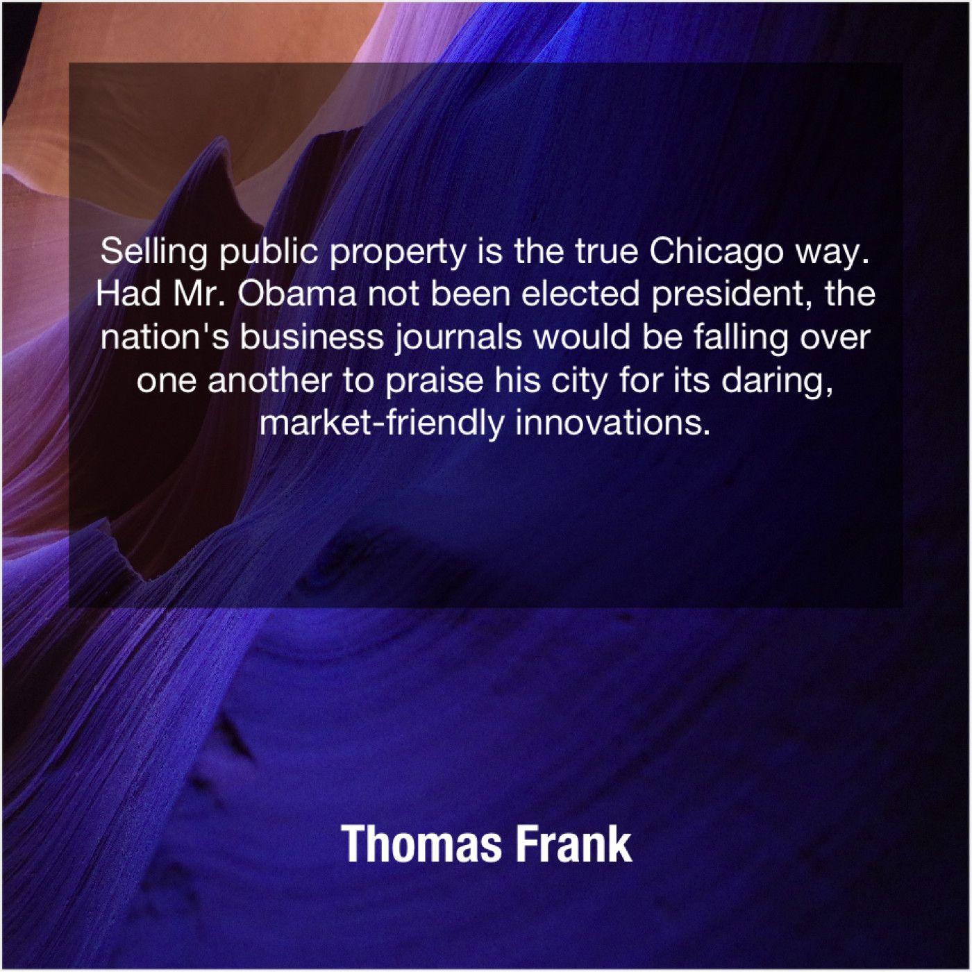 Thomas Frank Selling Public Property Is The Joan Allen Dan Millman Joan