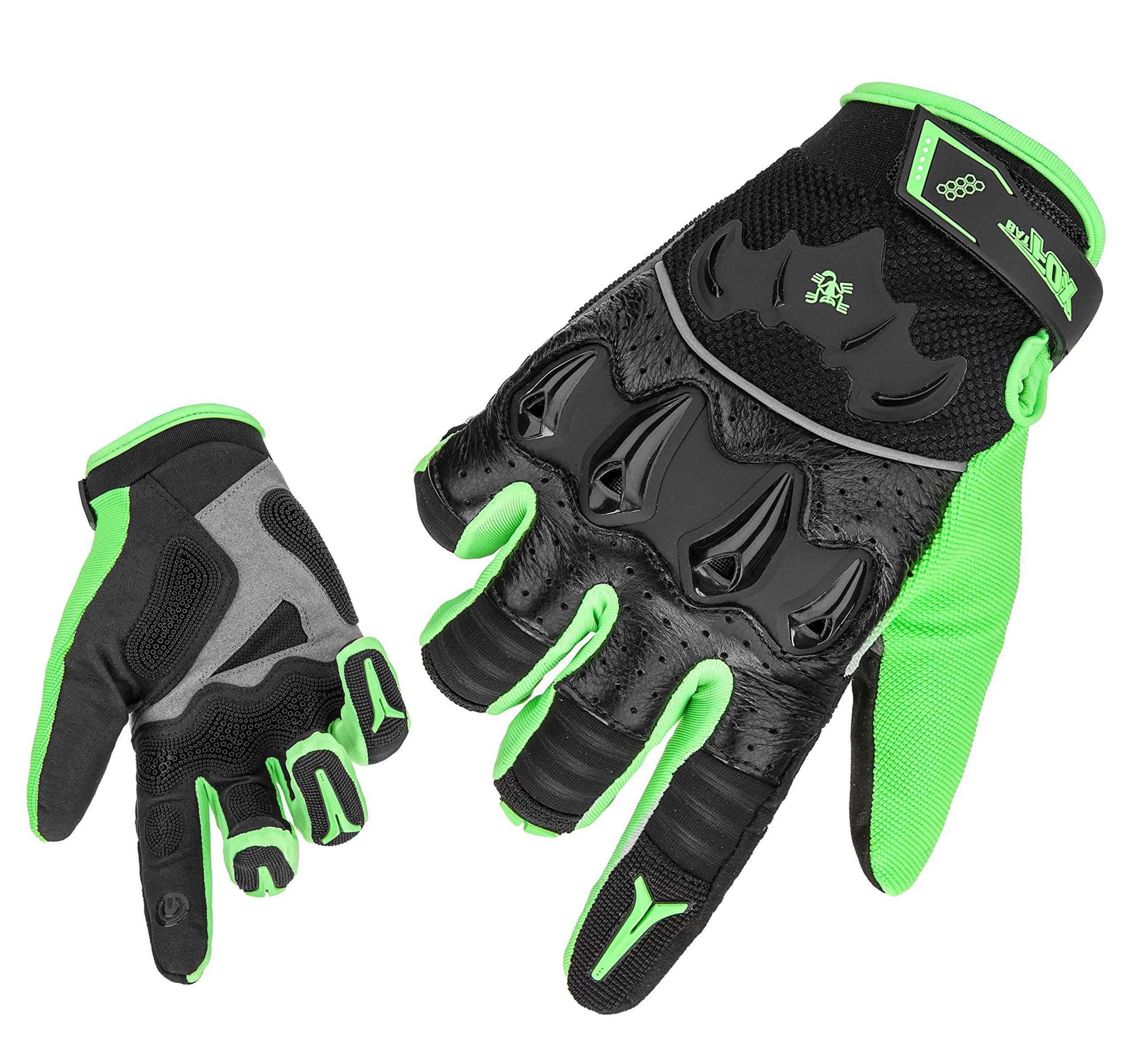 Cycling Full Finger Anti-slip Gloves Mountain Bike Motocross MTB Racing Mitten