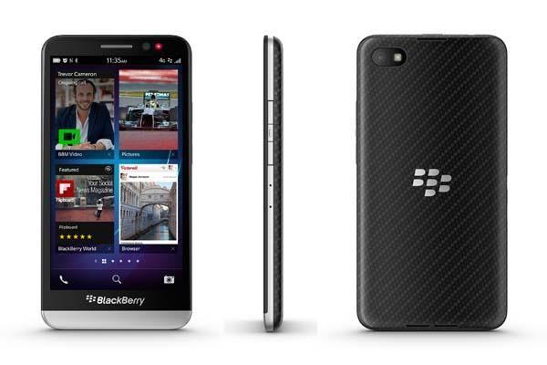 BlackBerry Z30 Smartphone Announced Blackberry z30