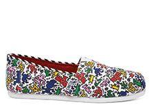 NEW Keith Haring Pop Women's Classics
