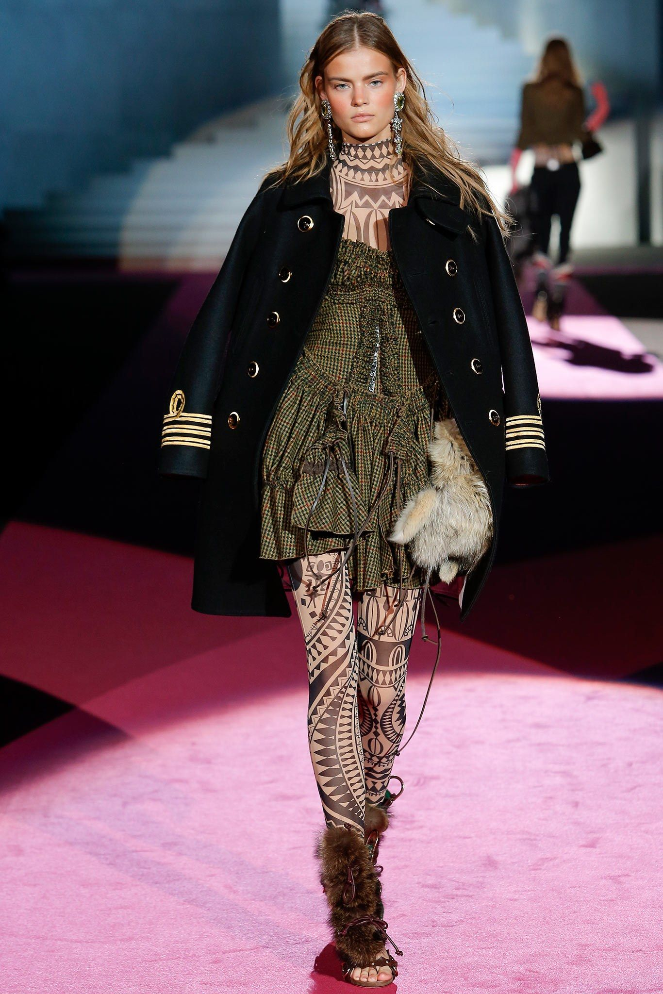 Dsquared2 Fall 2015 Ready-to-Wear