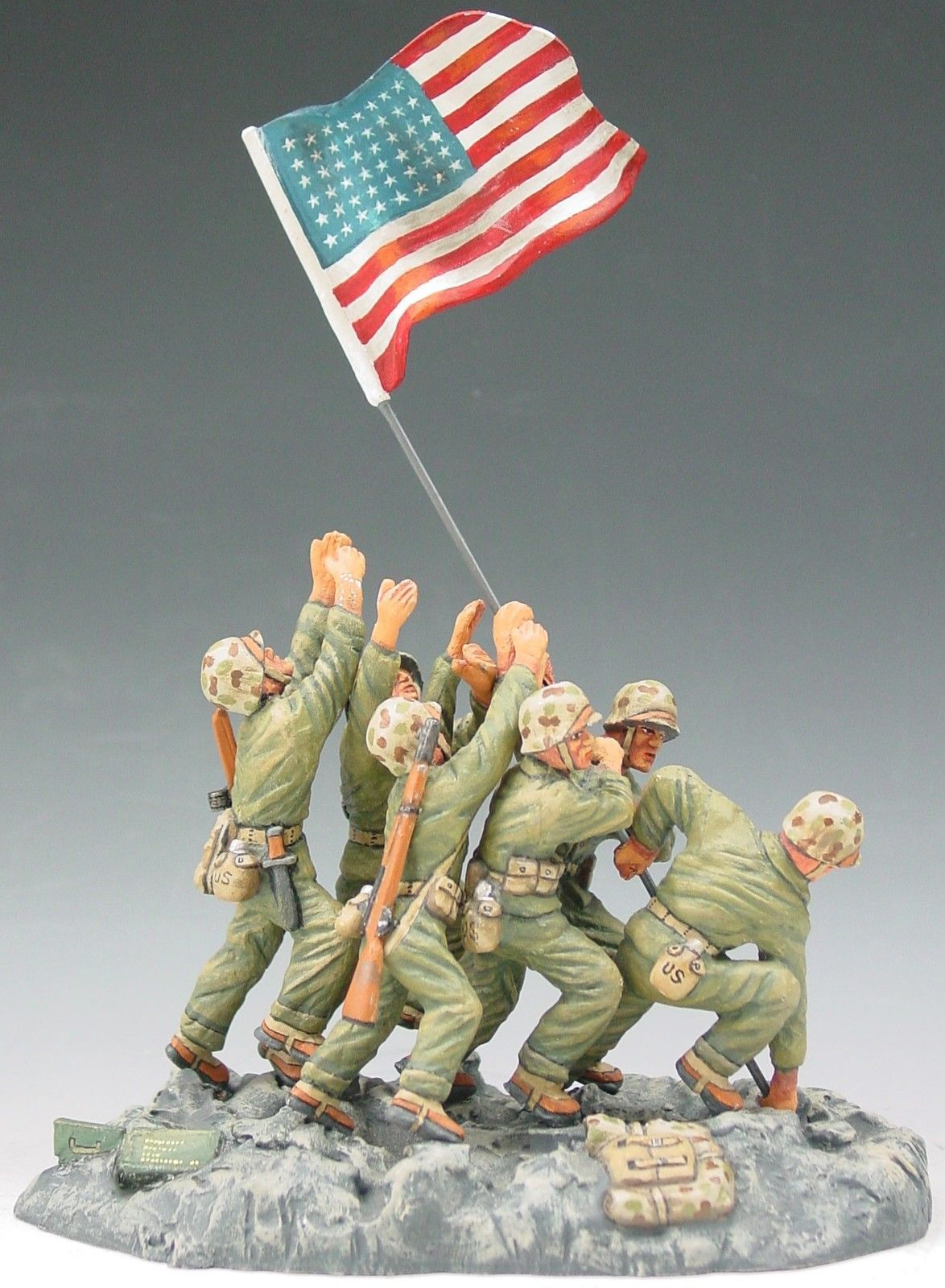 King Country Iwo Jima IWJ006 U s Marines Raising The Flag ...